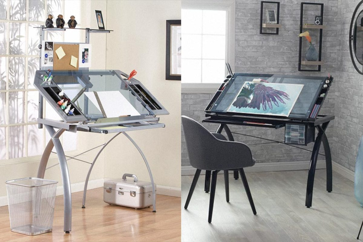 15 Best Drawing Tables And Art Desks Design With Red
