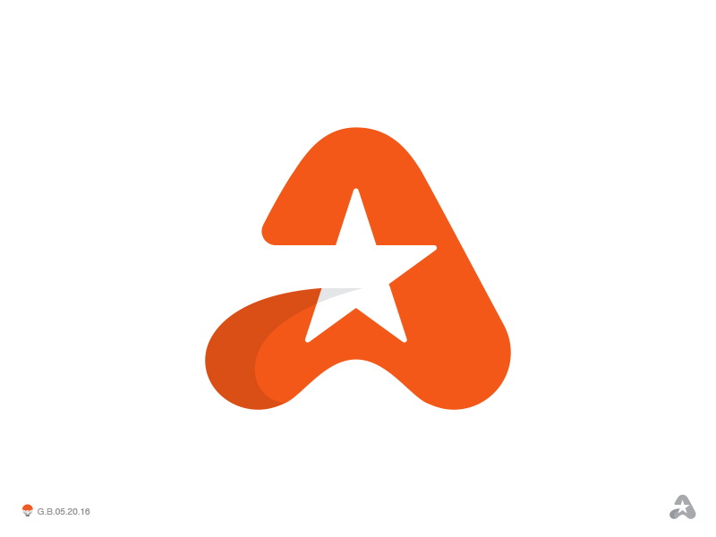 Single Letter Logo Design Inspiration From A Z