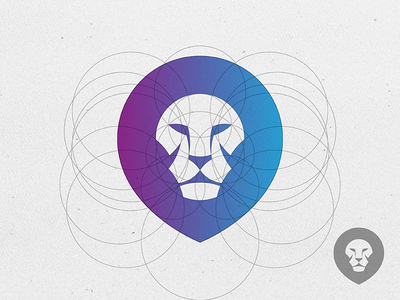 lion logo by yoga perdana lion logo design inspiration