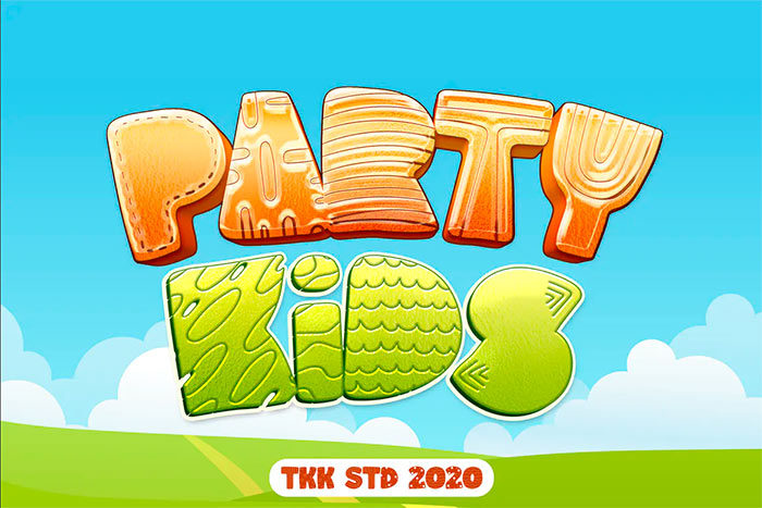 Party Kids - Gaming Font