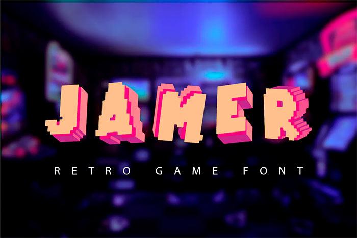 Jamer - Retro Game font